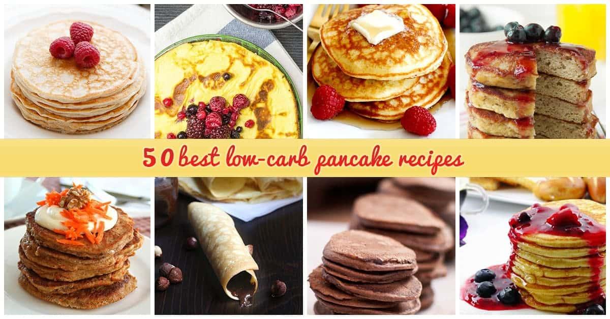 Low-carb Pancake Recipe Ideas
