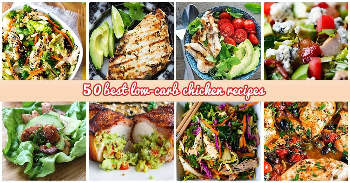 Best Low-Carb Chicken Recipes
