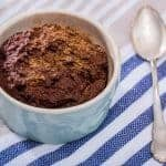 Low-Carb Chocolate Mug Cake