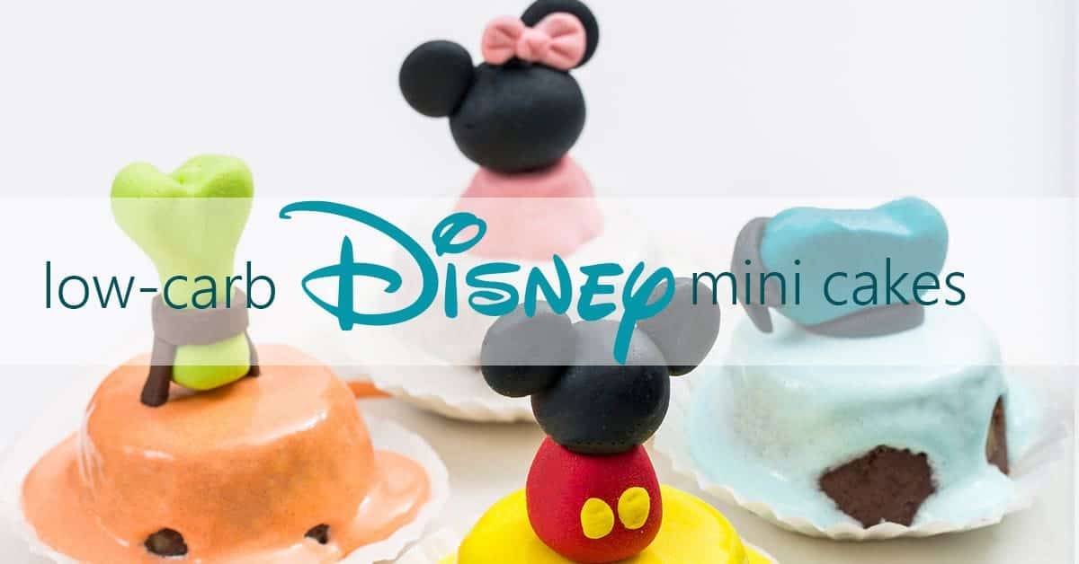 Low-Carb Disney Cakes
