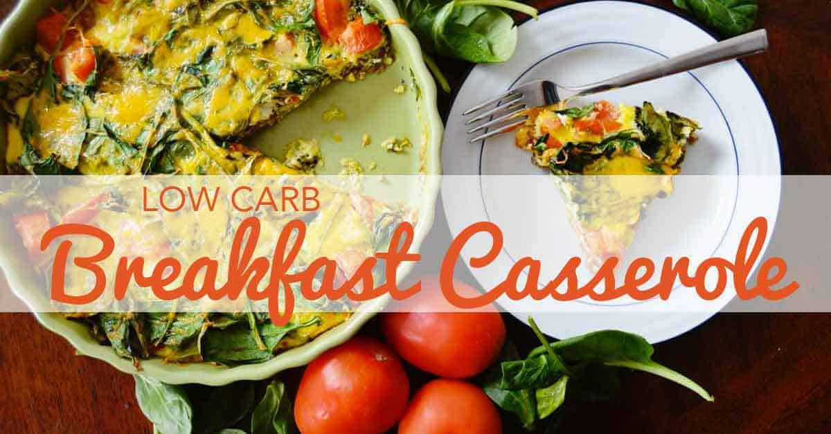 Delicious breakfast casserole recipe that is easy to make.