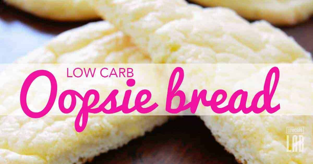 Low Carb Oopsie bread recipe