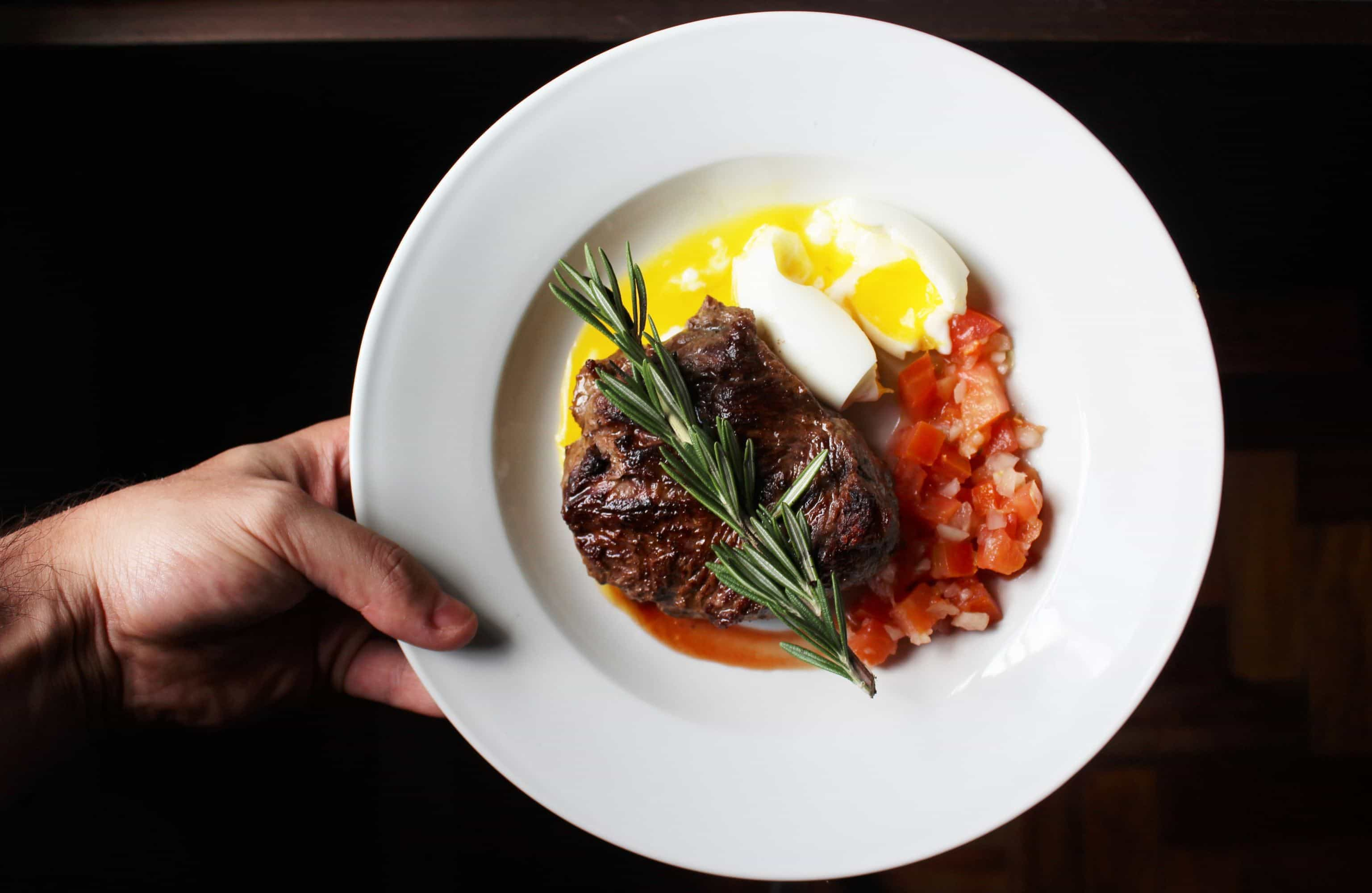 Ketogenic diet steak and eggs
