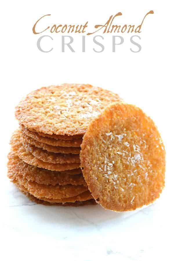 Low-Carb Coconut Almond Crisps