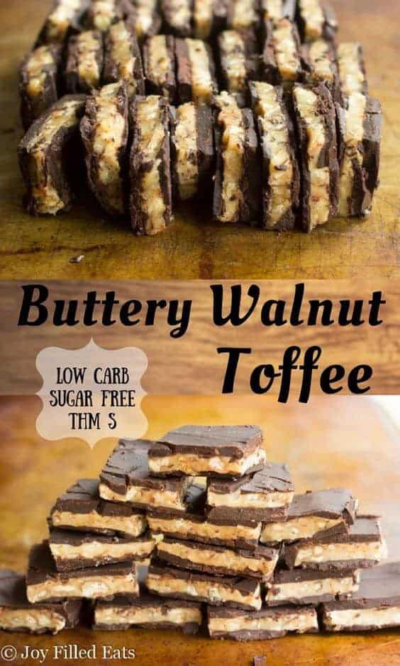 Buttery Walnut Toffee