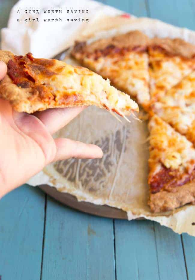 Easy Low-Carb Pizza Crust Recipe