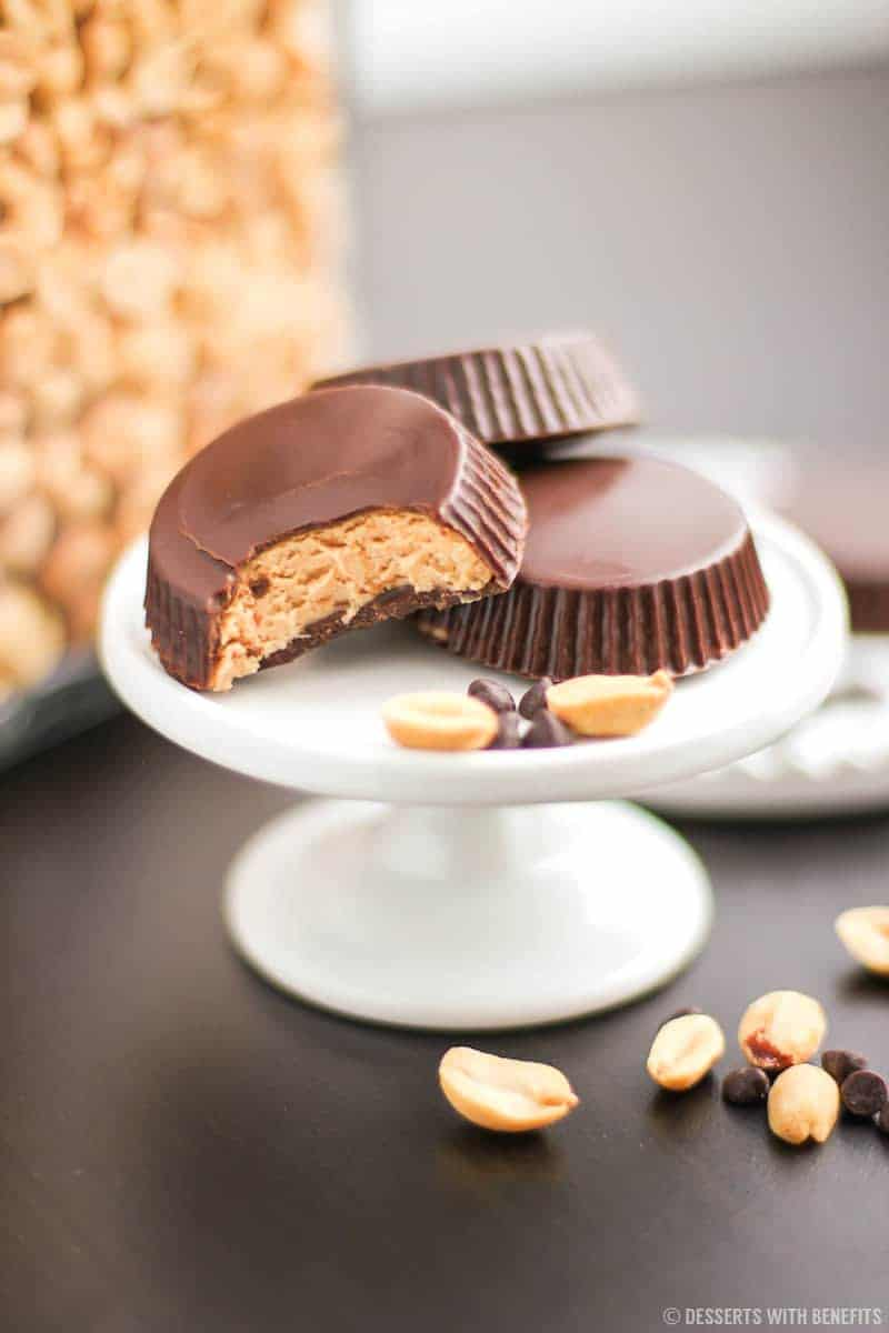 Healthy Homemade Peanut Butter Cups