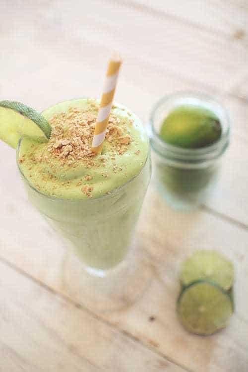 Key Lime Pie Protein Shake