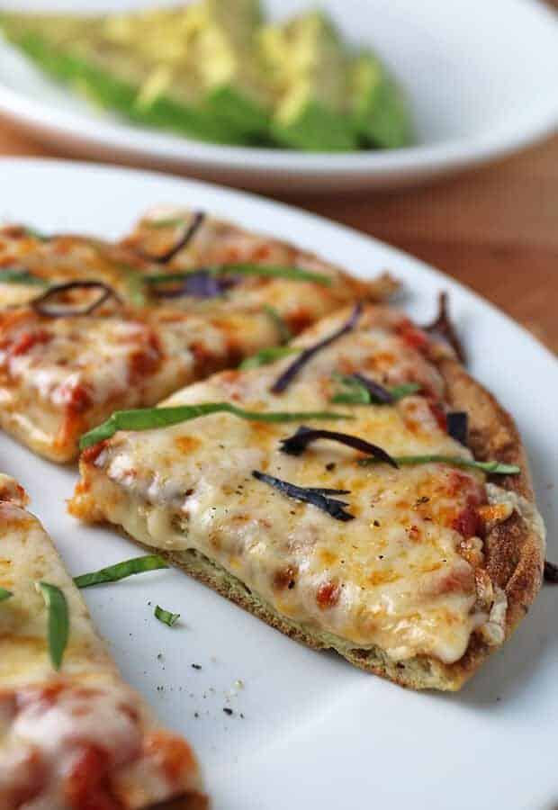5 Minute Keto Pizza