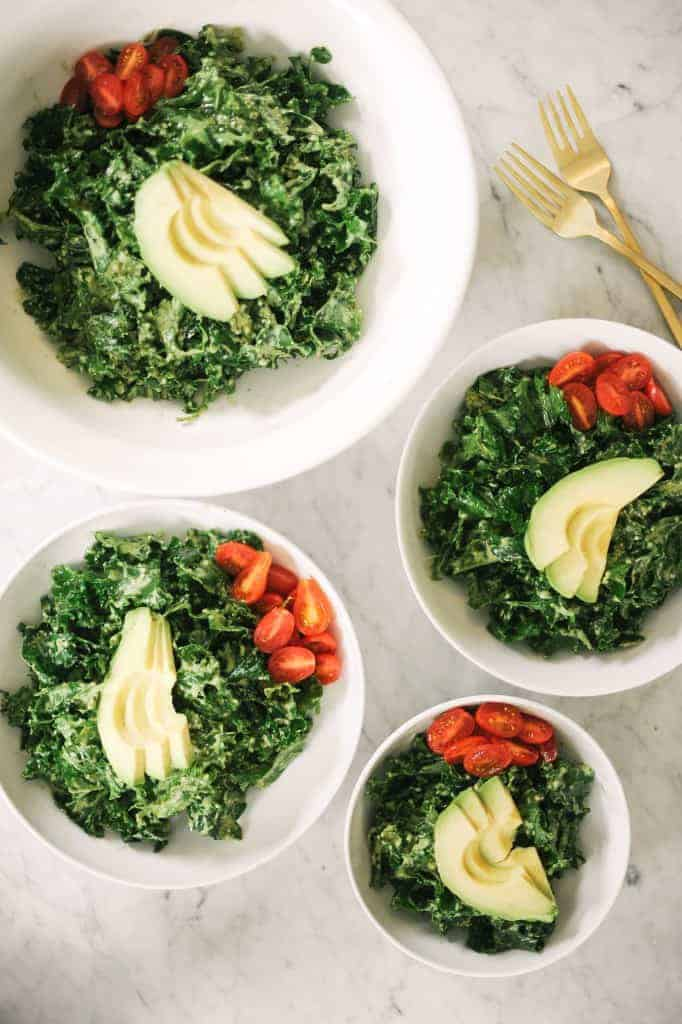 Pesto Kale Salad