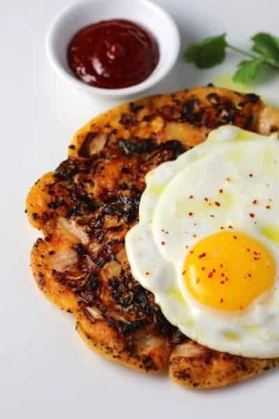 Savory Korean Breakfast Pancake