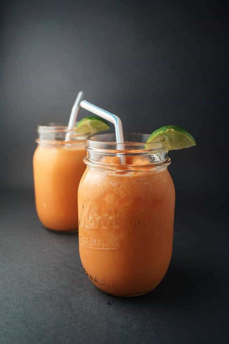24. Carrot Orange Mango Smoothie