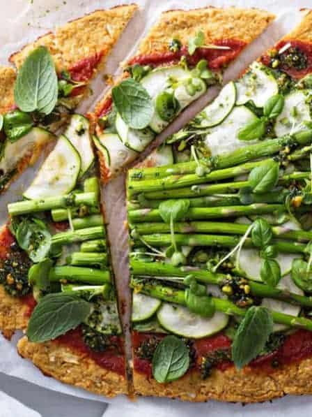 Pizza Mit Blumenkohl Selber Machen