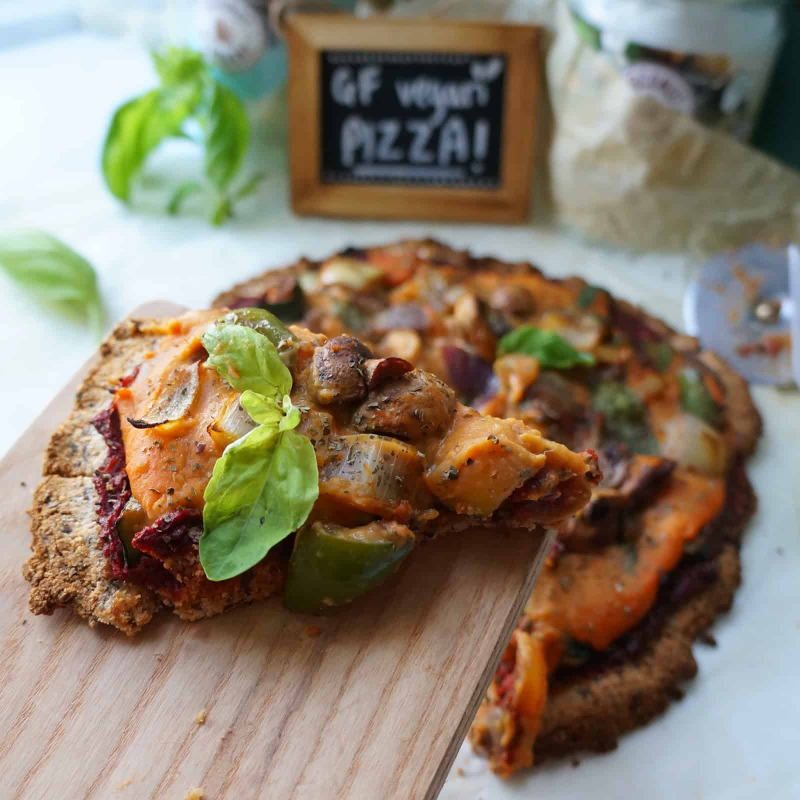 Coconut Flour Crust Pizza