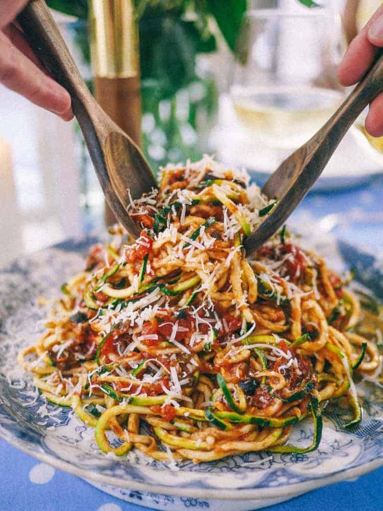 Slutty No Carb Pasta