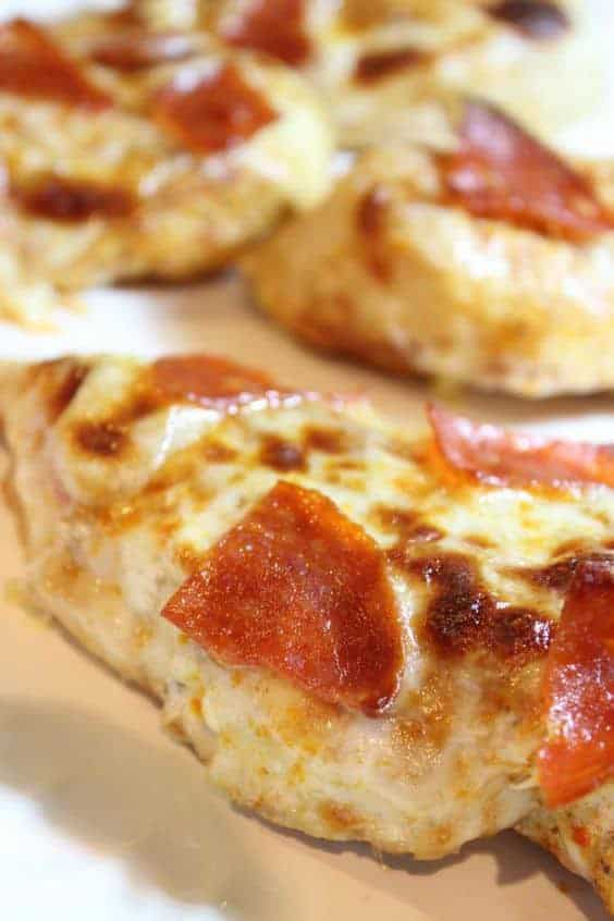 Pizza Topped Chicken Breasts