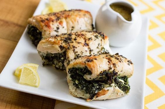 Feta Stuffed Chicken