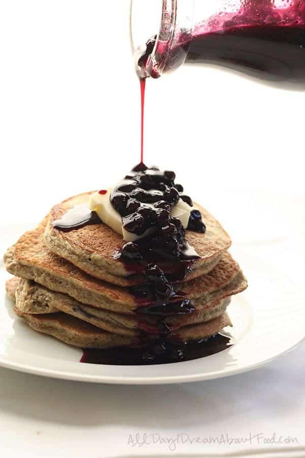 Chia Seed Blender Pancakes