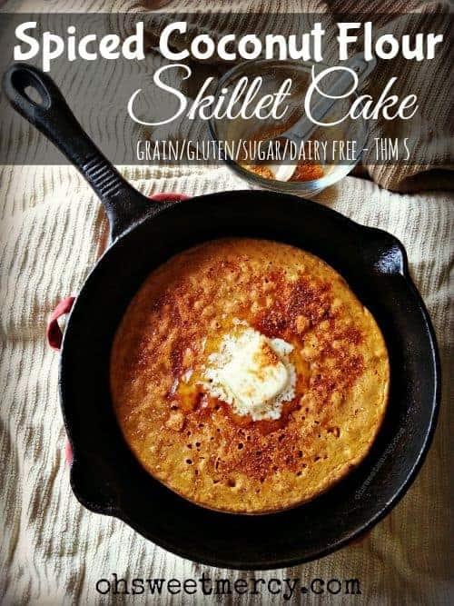 Spiced Coconut Flour Skillet