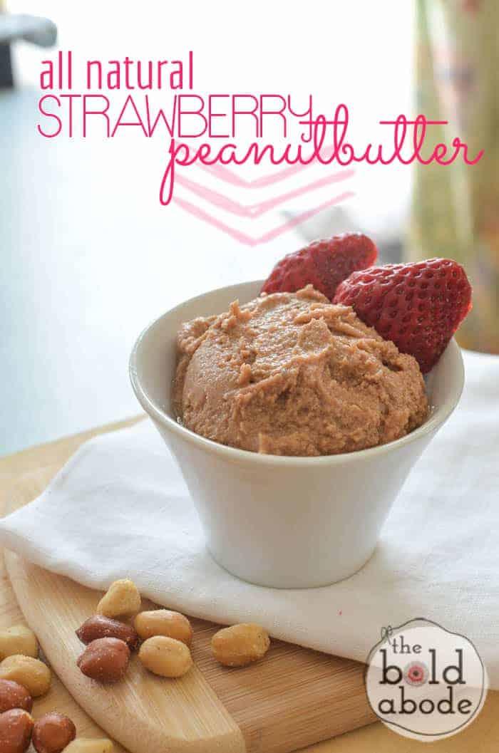 Strawberry Honey Peanut Butter