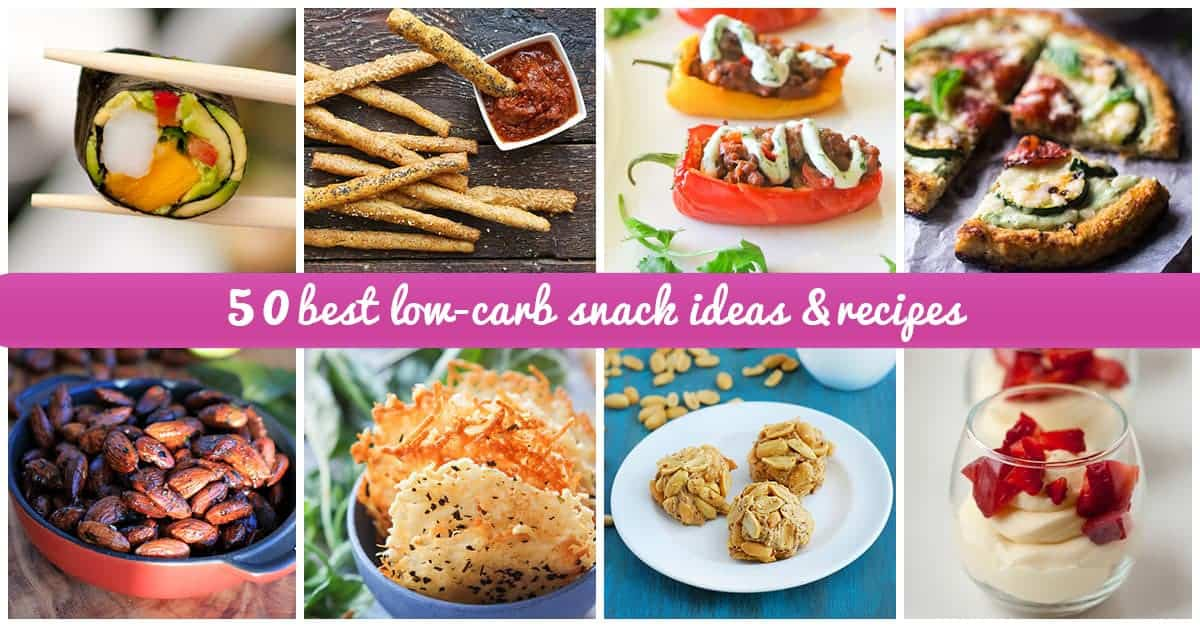 Low-carb snack ideas for 2016