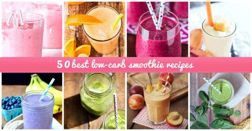 low carb fruit healthy fruit smoothie recipes