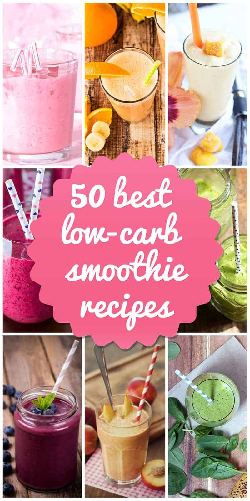 Add Flavor To Your Low Carb T With 50 Unique Smoothie Recipes