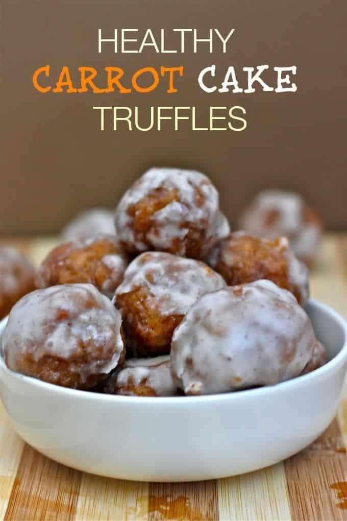 Healthy Carrot Cake Truffles