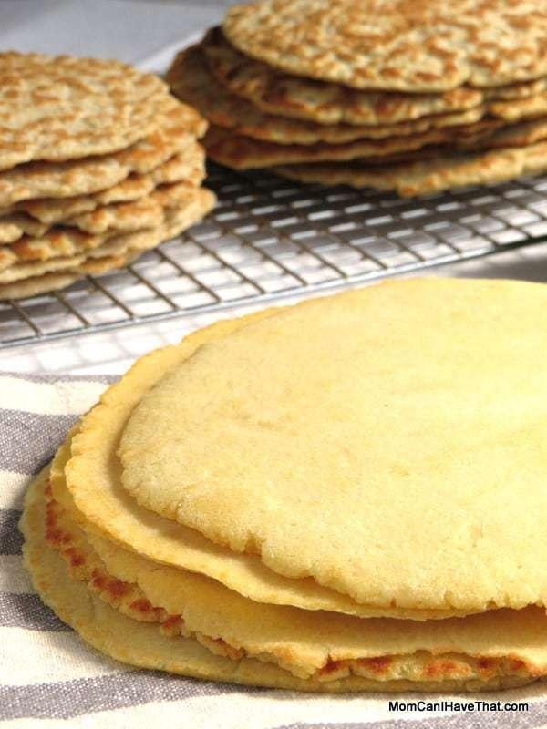 One-Carb, Gluten-Free Tortillas