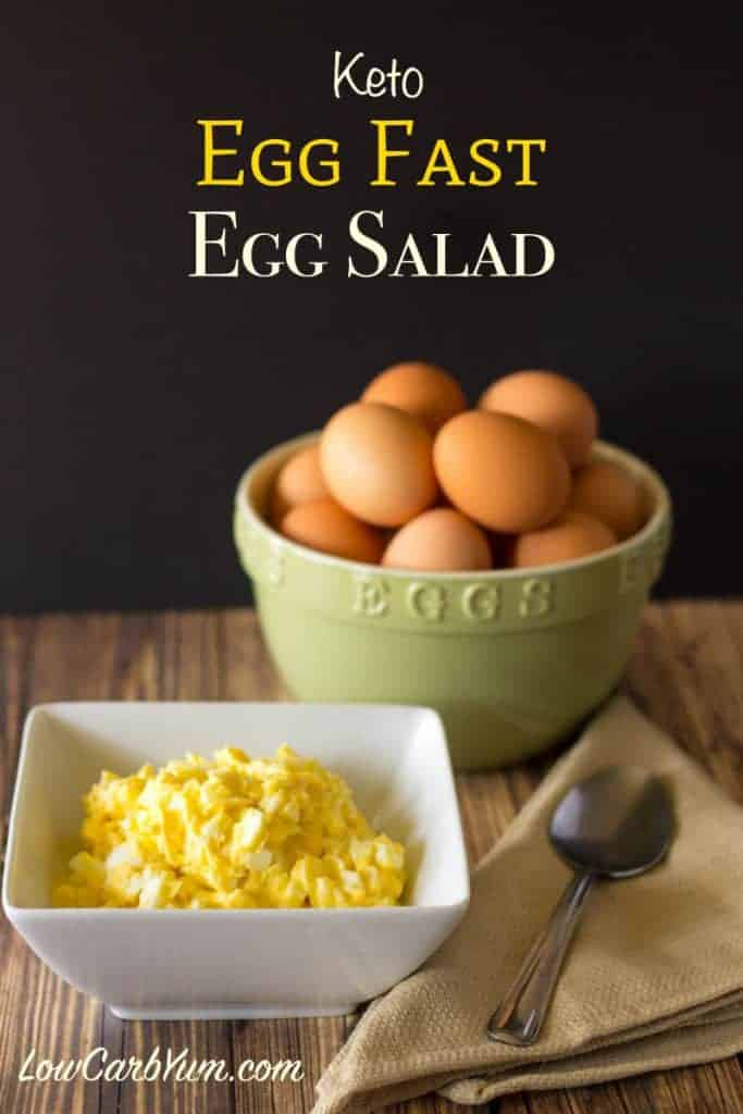 High Fat Low-carb Egg Salad For Egg Fast