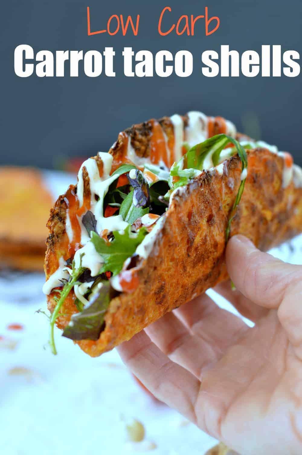 Carrot Taco Shells