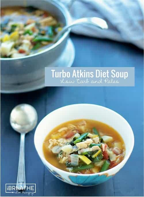 Turbo Atkins Diet Soup