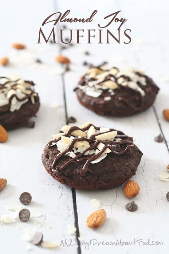 Almond Joy Muffin Tops