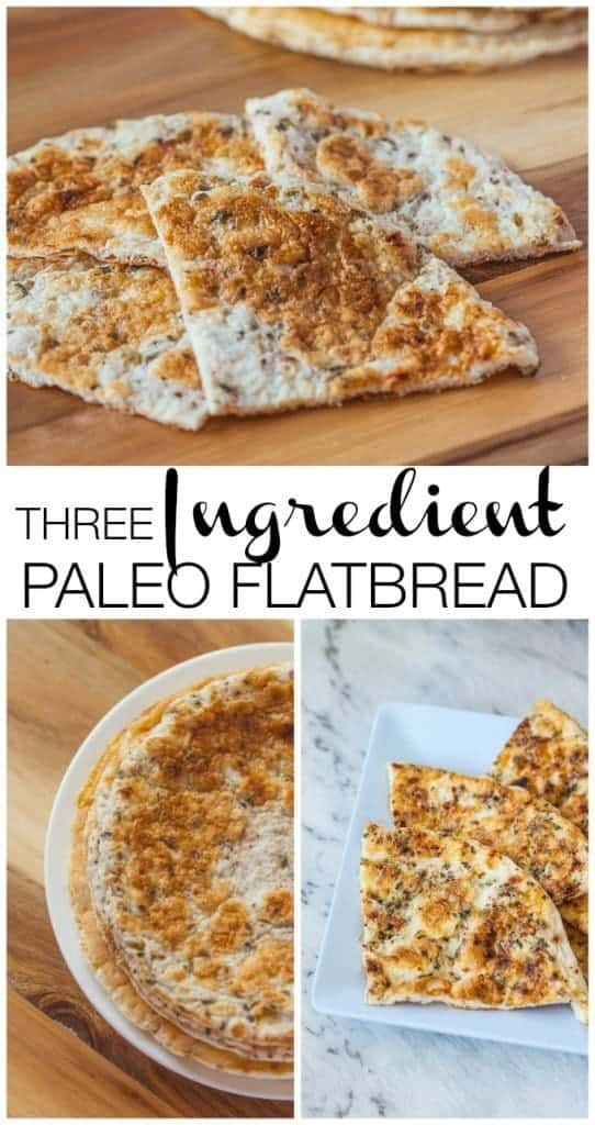 3 Ingredient Paleo Flatbread