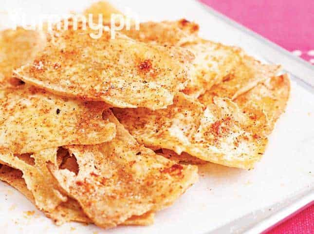 Baked Tofu Chips