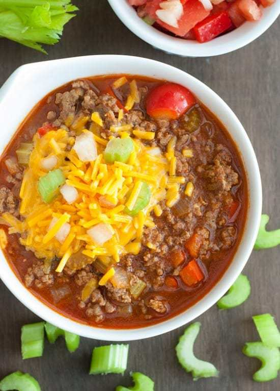 Low-Carb Chili