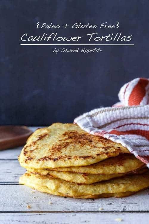 Paleo And Gluten-Free Cauliflower Tortillas