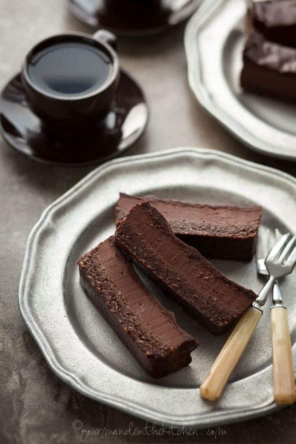 Chocolate Silk Brownie Bars