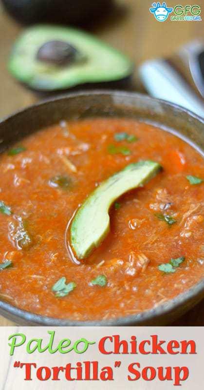 29. Mexican Chicken Tortilla Soup
