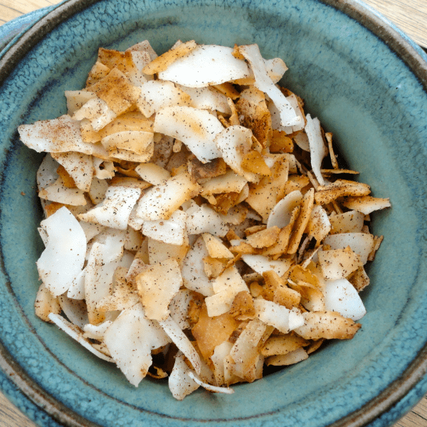 Spiced Low Carb Snack Chips