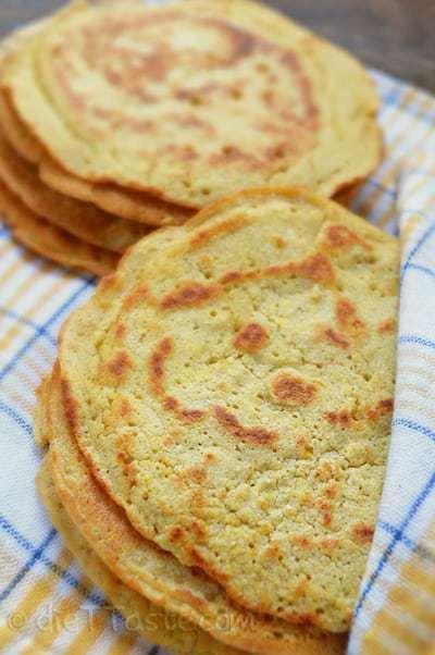 Chickpea Flour Tortillas
