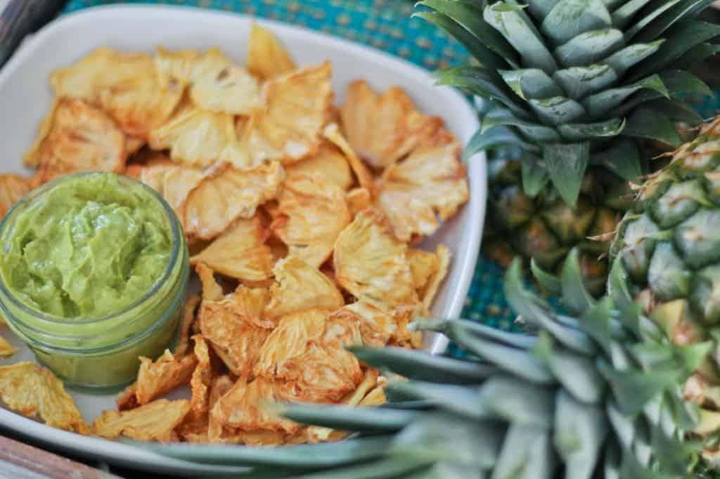 Pineapple Chips N' Dip