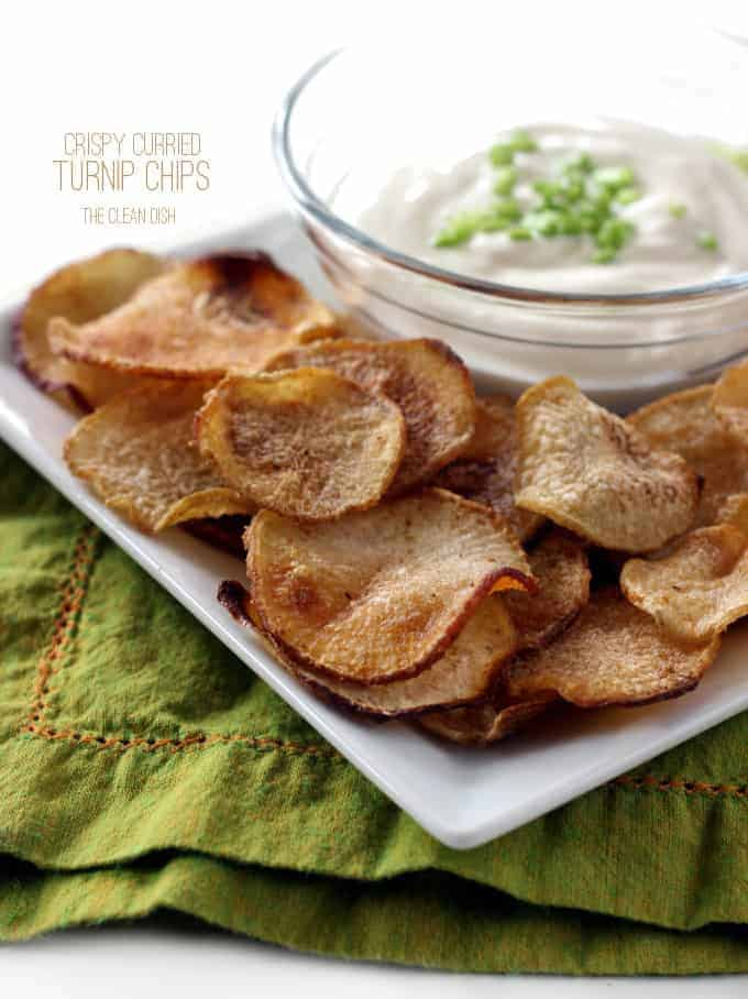 how to make turnip chips