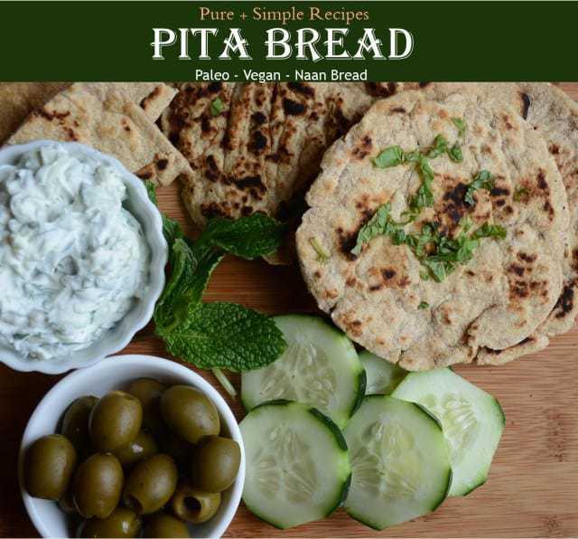 Paleo Pita-Tortilla-Naan Bread