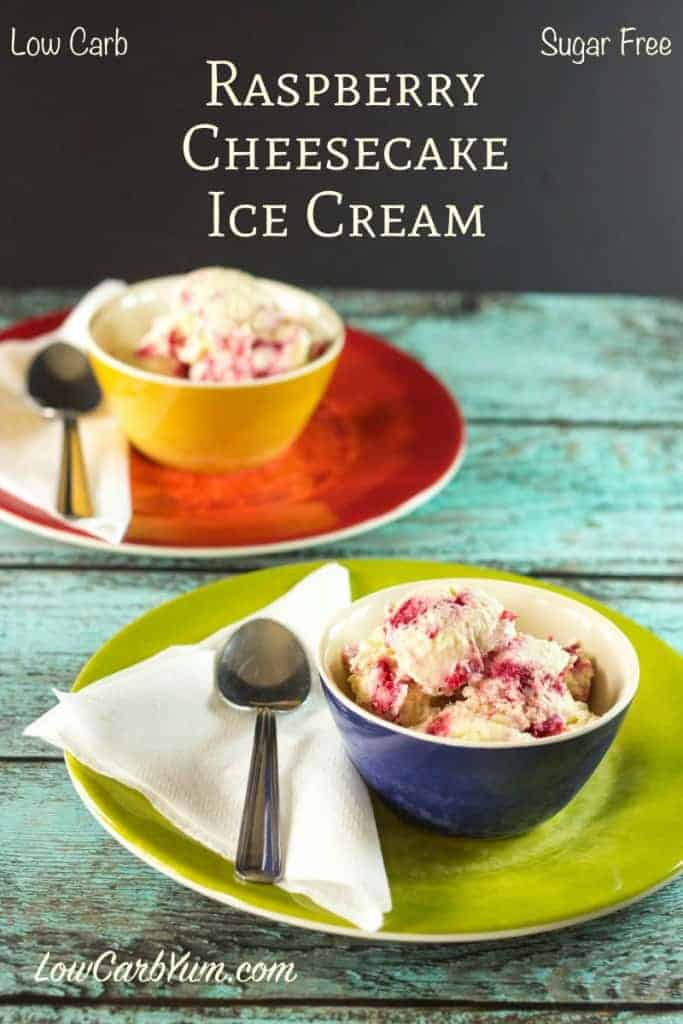 Raspberry Cheesecake Ice Cream