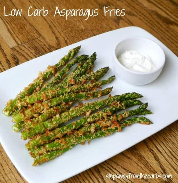 Low Carb Asparagus Fries