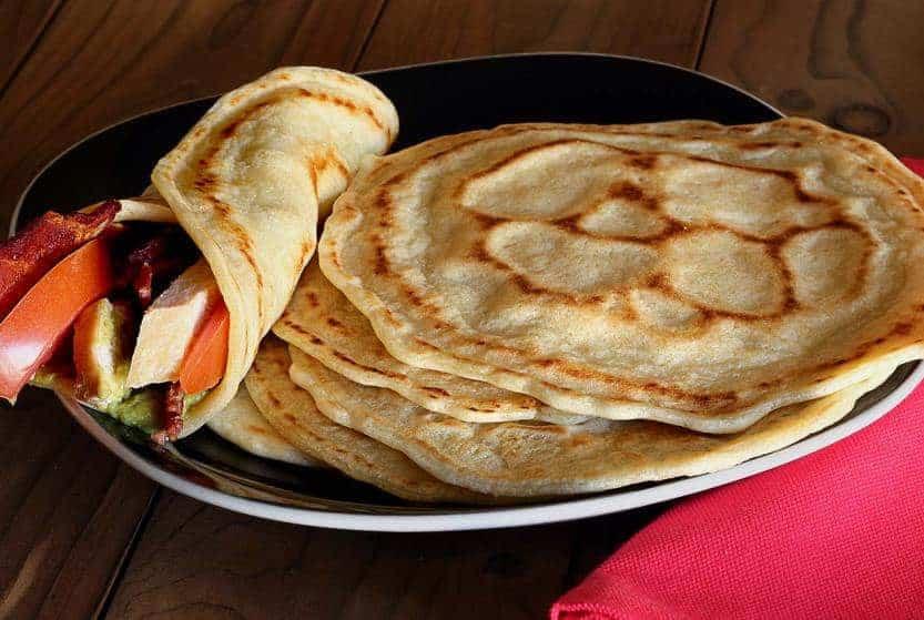 Paleo Gluten Free Tortillas