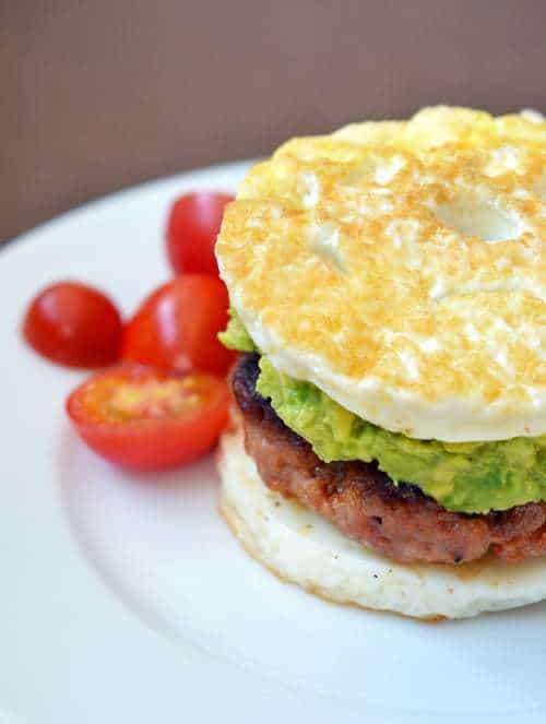 "Paleo Sausage Egg ""McMuffin"""