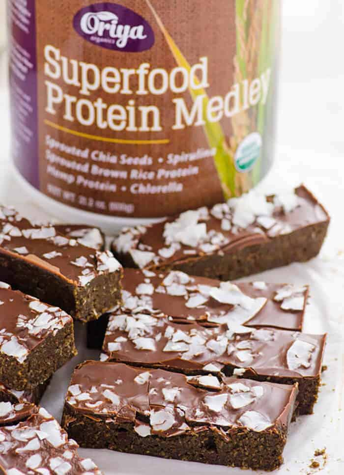 Chocolate Coconut Superfood Protein Bars