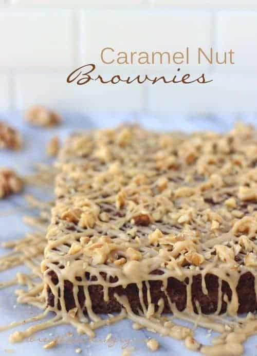 Caramel Nut Brownies